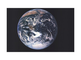 1973 Earth From Space Posters by  National Geographic Maps