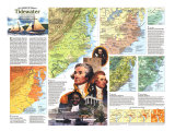 Tidewater and Environs Map Poster, 1988, side 2