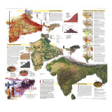 India Map 1997 Posters