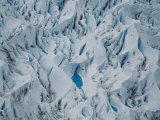 Twisting formations of ice within Grey Glacier Photographic Print by Bobby Haas