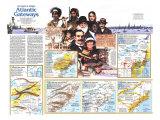 Atlantic Gateway Map Poster, 1983, side 2