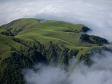Clouds roll over verdant hills northwest of San Miguel de Tecuman Photographic Print by Bobby Haas
