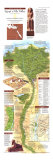 1995 Egypts Nile Valley North Map Plakater af  National Geographic Maps