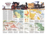 Northern Plains Map Poster, 1986, side 2