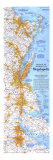 1994 Boston To Washington Megalopolis Map Posters