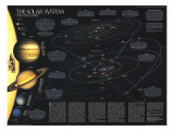 1990 Solar System Stampa