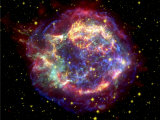 The many sides of the supernova remnant Cassiopeia A Fotografisk tryk