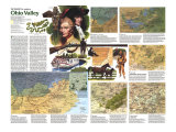 Ohio Valley Map Poster, 1985, side 2