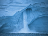 Austfonna Ice Cap melting during the summer months Photographic Print by Paul Nicklen