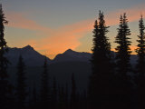 Sunset from Granite Park Chalet. Photographic Print by Michael Melford