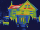 Thermal Image of a Residence in New Haven Photographic Print by Tyrone Turner