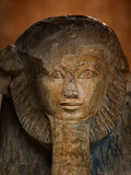 As a sphinx, Hatshepsut displays a lion's mane and a pharaoh's beard Photographic Print by Kenneth Garrett
