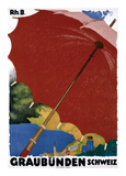 Graubunden, Schweiz Prints by Augusto Giacometti