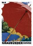 Graubunden, Schweiz Posters by Augusto Giacometti