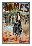 The James Bicycle Posters by G. Moore