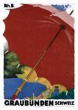 Graubunden, Schweiz Poster by Augusto Giacometti