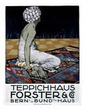 Teppichhaus Forster & Co Print by Burkhard Mangold