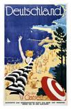 Deutschland, An der Ostsee Prints by Leonhard F. W. Fries
