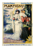 Martigny Poster by Lucien Metivet