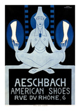 Aeschbach American Shoes Prints by Hans Schoellhorn
