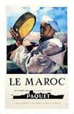 Le Maroc, Navigation Paquet Prints