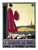 Le Sourire de Paris Prints by Bernard Becan