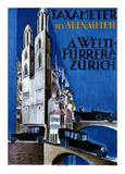 Taxameter A Welti-Furrer AG, Zurich Posters by  Morach