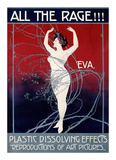 Eva, All the Rage Print by Mario Borgoni