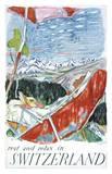 Switzerland Print by Carigiet Alois