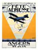 Fete Aerienne Angers Prints by P. L. Armand