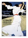 Lawn Tennis Tunier Reprodukcje autor Hans Rudi Erdt