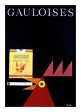 Gauloises Prints by Donald Brun