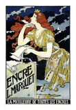 Encre L Marquet Posters by Eugene Grasset