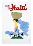 Come to Haiti Posters by E. Lafond