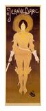 Joan d'Arc Poster af Georges de Feure