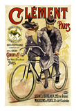 Clement Bicycles Prints by A. Gilbert