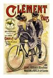 Clement Bicycles Láminas por A. Gilbert