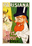 Parisiana, Paris Voyeur Prints by J. Saunier