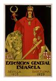 Exposicion General Epanola Poster by  Hohenleiter