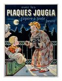 Plaques Jougla Poster af Eugene Oge