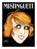 Mistinguett Posters par  Orsi