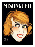 Mistinguett Posters by Orsi 