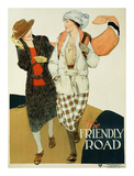 YWCA, The Friendly Road Posters by Anita Parkhurst