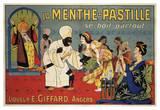 La Menthe-Pastille Plakater af Eugene Oge