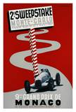 2e Sweepstake de Monte-Carlo, 9eme Grand Prix de Monaco Prints by Guy Serre