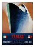 Italia Poster by Giovanni Patrone