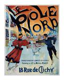 Le Pole Nord Poster by Georges Ripart