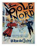 Le Pole Nord Print by Georges Ripart