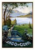 Lago di Como Posters by Elio Ximenes