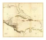 Composite: West Indies, c.1810 Posters par Aaron Arrowsmith